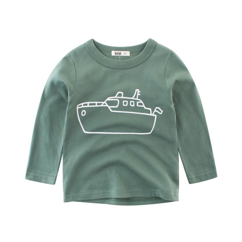 3a4333488 2018 Autumn Kids Tshirt Baby Boy Girls Clothes Cotton Children T ...